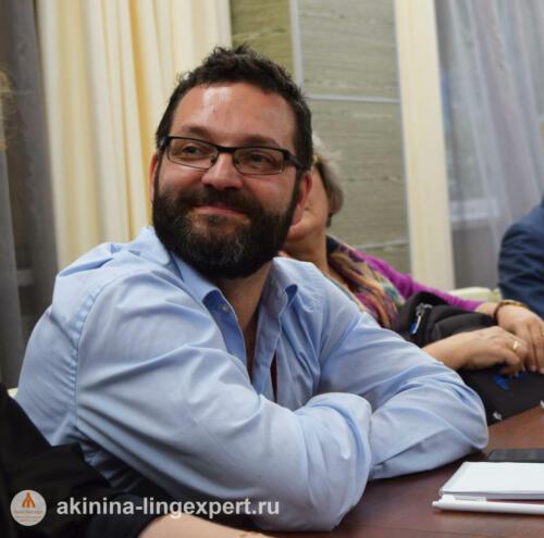 Эксперт из Санкт-Петербурга д.ф.н. Валерий Анатольевич Ефремов.